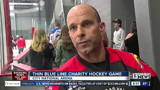 City National Arena hosts Thin Blue Line Charity Game
