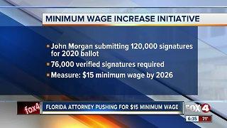 Minimum wage initiative in Florida