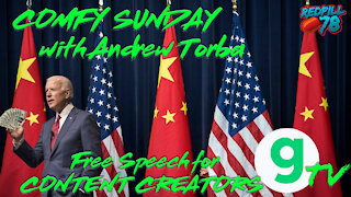 Andrew Torba presents Gab Tv on Comfy Sunday with RP78 & M3thods
