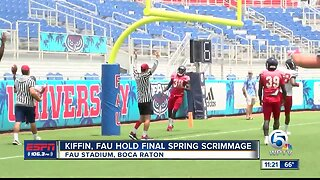 FAU Football's final spring practice