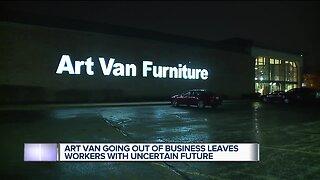 Art Van Furniture closing all stores, liquidation sales start Friday