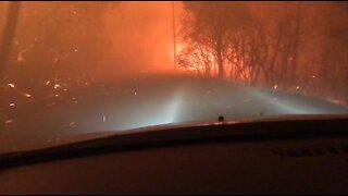 Driving Through Fire