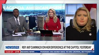 Rep. Kat Cammack On Her Experience at the Capitol Yesterday