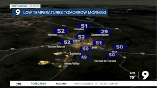 Dry weather returns to Arizona