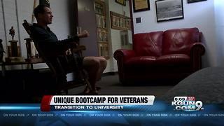 Veterans prepare for transition to college through unique bootcamp