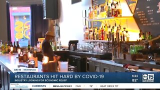 Restaurants looking for economic relief due to COVID-19 impact