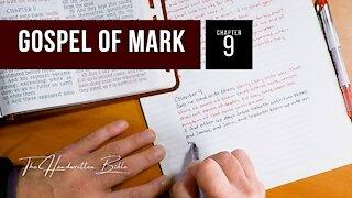 Gospel of Mark, Chapter 9 | The Handwritten Bible (English, KJV)