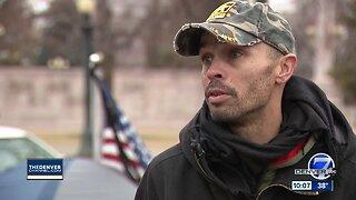 Veteran defends $50 million lawsuit against Denver after homeless camping arrest