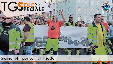 Siamo tutti portuali di Trieste