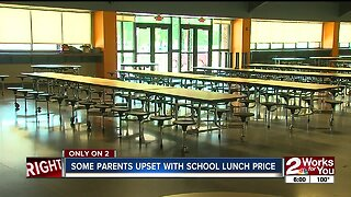 Some parents upset with school lunches