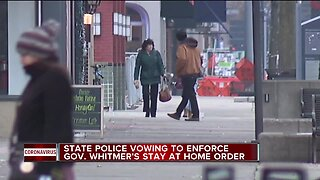 State police vowing to enforce stay-at-home order