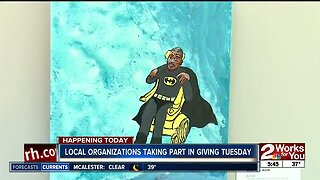 local organizations take part in giving Tuesday