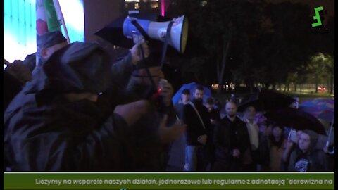 Aleksander Jabłonowski: Takich protestów będzie więcej! Po Marszu Wolnych Ludzi, Lublin 17.09.2021r.