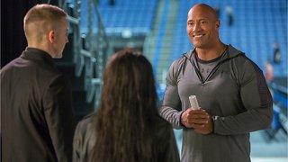 Dwayne Johnson Surprises Fans in Movie Theater