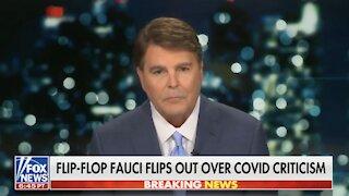 Flip Flop Fauci Flips Out