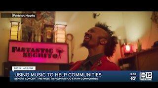 Using music to help communities