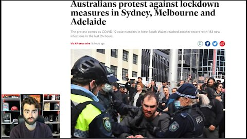 HEATING UP! Australian Mass Protests CLASH With Police As Lockdowns INTENSIFY!