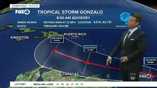 Tropical Storm Gonzalo special advisory
