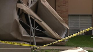 Harrisonville First Baptist Church damaged during severe storms