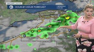 7 First Alert Forecast 6 a.m. Update, Wednesday, July 14