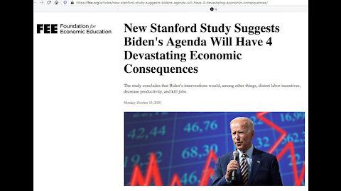 Biden Will Make America Broke Again