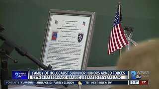 Family of Holocaust survivor honors armed forces