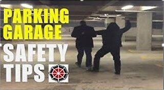Parking garage safety tips
