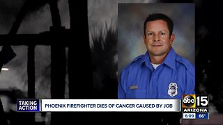 Phoenix fire department remembers firefighter Rick Telles