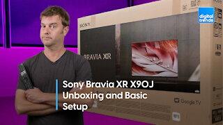 Sony X90J LED TV Unboxing, Setup, Impressions | I'm skeptical
