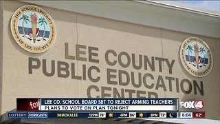 Lee County Schools expected to reject arming teachers