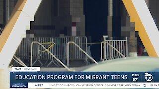 Education program from migrant teens