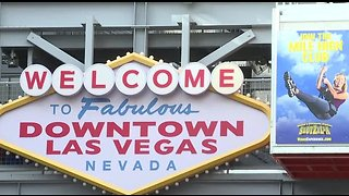 Prepping for New Year's Eve in Downtown Las Vegas