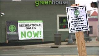 Marijuana riding high in Michigan as sales reach nearly 8 million dollars in one week.