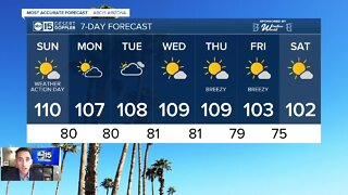 Excessive Heat Warning in effect through Sunday