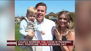 Wedding worries over COVID-19