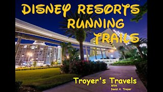 Running Trails at Walt Disney World Resort with Troyer's Travels