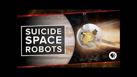 Suicide Space Robots