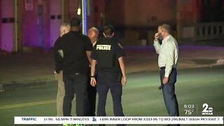 Officer taken to Shock Trauma following shooting