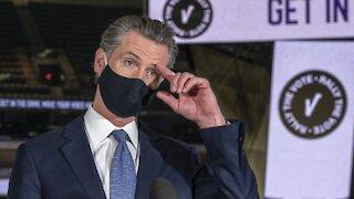 Calif. Governor Under Pressure To Name Latino To Harris' Senate Seat