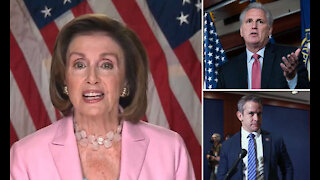McCarthy Responds to Pelosi Appointing Adam Kinzinger to January 6 Select Committee