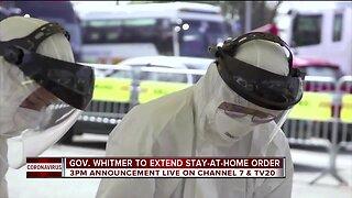 Gov. Whitmer to extend stay-at-home order Thursday