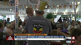 Oktoberfest returns to Cape Coral for 34th year