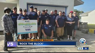 """""""Rock the block"""" project makes over homes in Delray Beach"""