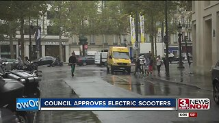 Council approves electric scooters