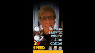 It's soooooooooo easy to waste time online!⏱🧑🏼💻