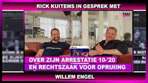 Rick Kuitem in gesprek met, Willem Engel