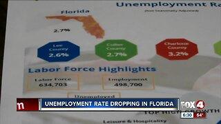 Southwest Florida sees historic unemployment rate