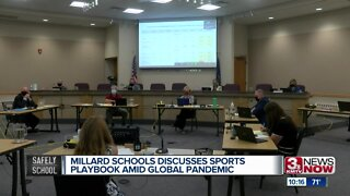 Millard Schools discusses sports playbook amid global pandemic