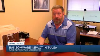 Ransomware impact in Tulsa, national cyberattack making waves
