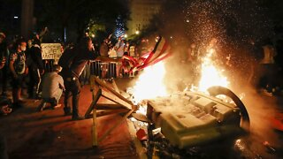 Tensions Flare At Protests Nationwide As Cities Enact Curfew